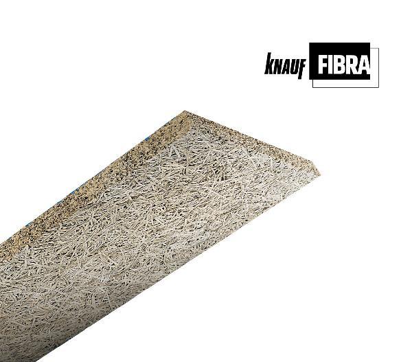 Panneau laine de bois FIBRALITH A2 CLARTE BD 25mm 200x60cm R=0,25