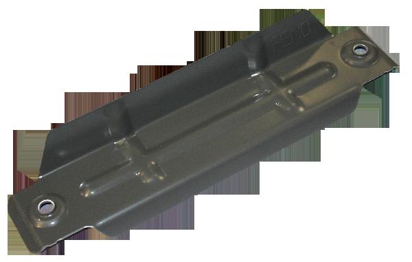 ARRET NEIGE POUR BAC ACIER PRELAQUE NERVURE PAS 250MM EP2MM RAL7006