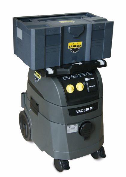 Surfaceuse CGR550 1900W +aspirateur VAC520+plateau+caisse+adaptateur