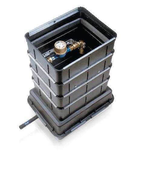 REGARD COMPOZIT-600 DN15 H.550MM TAMPON COMPOSITE B125 SANS RAIL