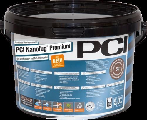 Mortier joint PCI NONOFUG PREMIUM n°58 acajou seau 5kg