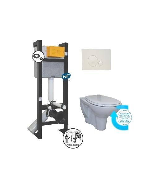 Pack  bâti-support sans bride 3-6l EVO 400x180x113cm NF XP D12208
