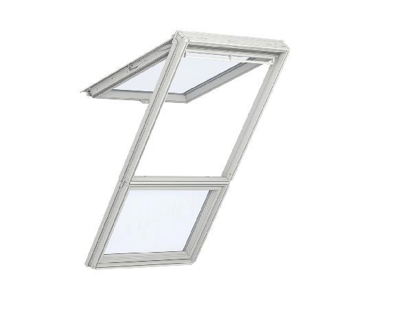 Fenêtre fixe pour verrière plane GIU 0057 tout confort MK34 78x92cm