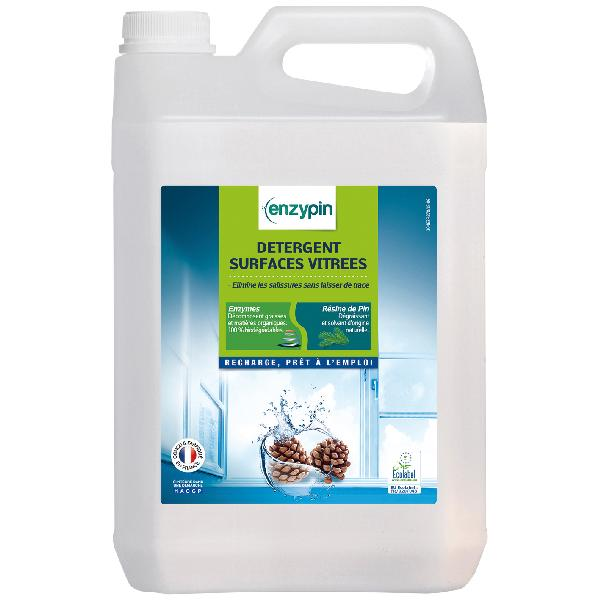 Nettoyant surface vitrée ENZYPIN bidon 5L