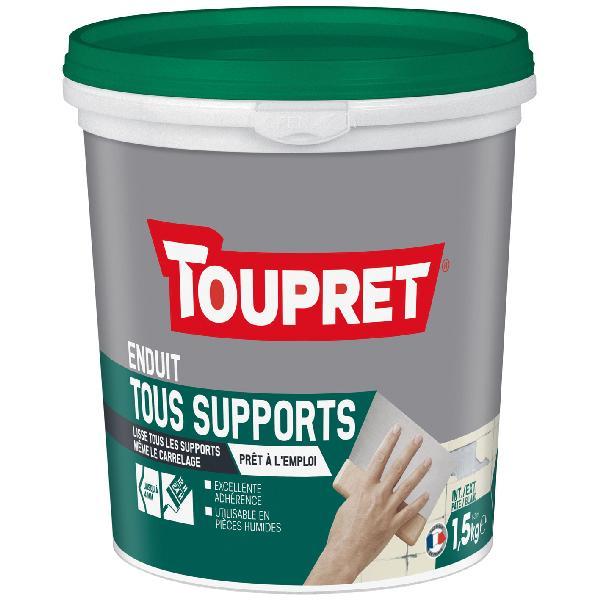 Enduit tous supports intérieur/extérieur pâte 1,5kg