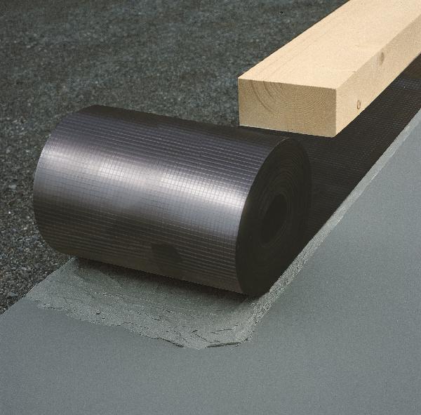 Bande d'arase DELTA DPC noire 0,7mm 0,20x50m
