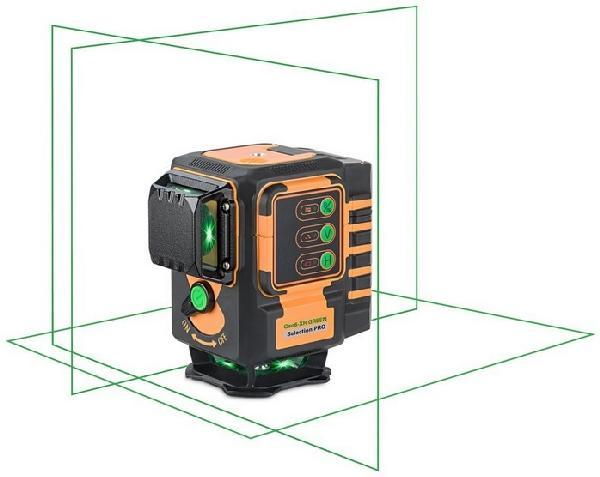 Laser multilignes GEO6-XR vert