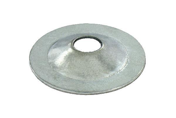Rondelle ronde pour plaque de plâtre acier zingué vybac 96