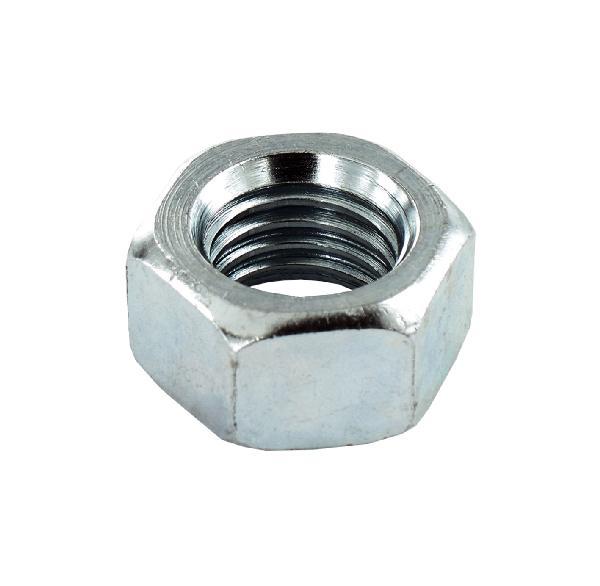 Ecrou hexagonal Ø5mm acier zingué vybac 100