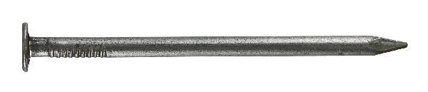 Pointe tête plate Ø4.9x110mm acier brut vybac 1.200Kg