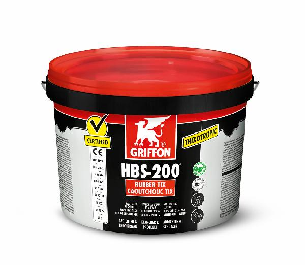 Caoutchouc liquide d'étanchéité HBS-200 TIX seau 5 LL