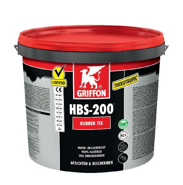 Caoutchouc liquide d'étanchéité HBS-200 TIX seau 16 L