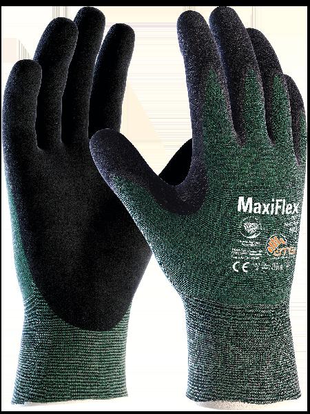 Gant MAXIFLEX CUT 34-8743 noir/vert T.7 sur cavalier