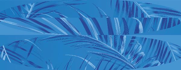 faience décor HUB felci sapphire rectifié 31,2x79,7cm Ep.9mm
