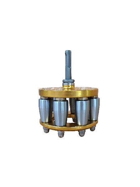 Evaseur pour tuyau Ø100mm 2000g 95mm 120mm