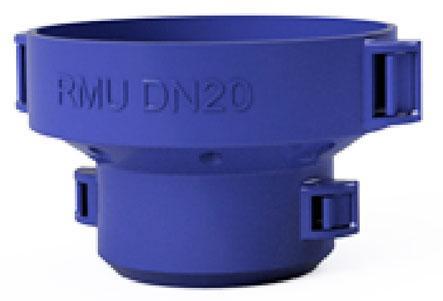 Embase PVC tube allonge pour robinet de prise NEXUS DN20-25