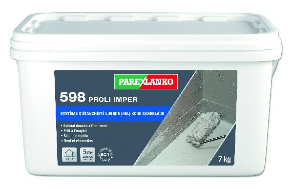 Système étanchéité sous carrelage 598 PROLI IMPER pot 7kg
