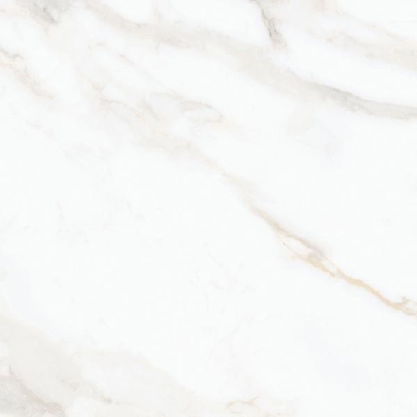 Carrelage NOCTURNE white/gold semi poli 60x60cm Ep.10mm