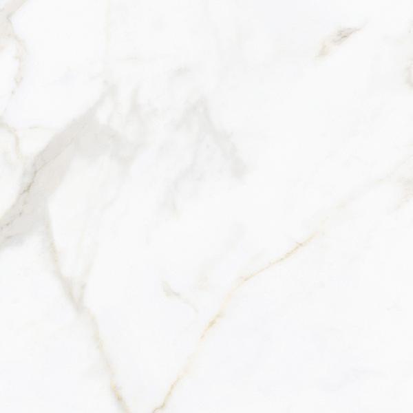 Carrelage NOCTURNE white/gold poli 60x60cm Ep.10mm