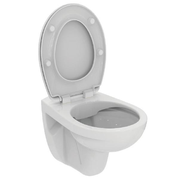 Pack WC sans bride ULYSSE blanc céramique NF