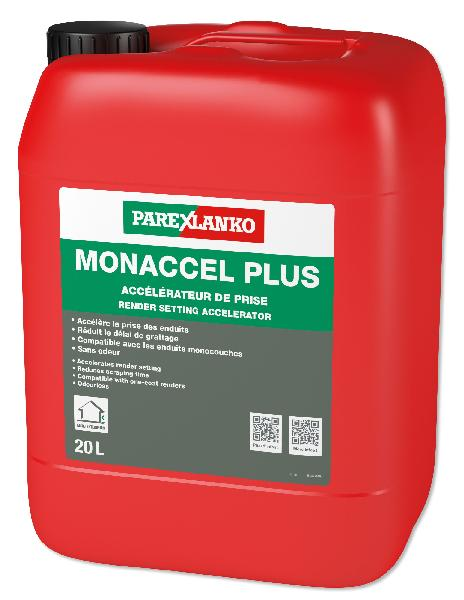 Accelerateur de prise pour enduit de facade MONACCEL PLUS bidon 20L