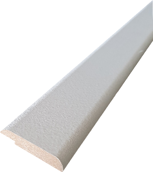 Couvre joint MDF prépeinture blanche 8x40mm 2,44m