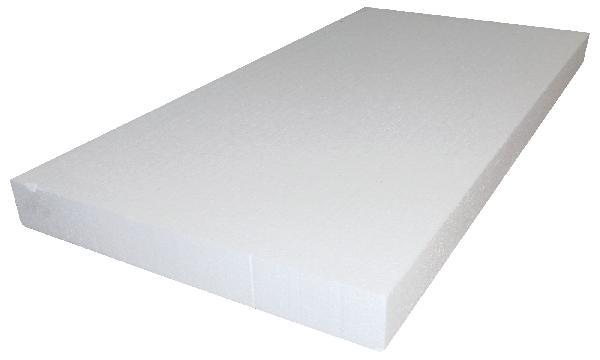 Polystyrène expansé PRB TH38 FACADE 120mm 120x60cm par 4 R=3,15