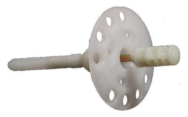 Chevilles à frapper longue HYDRO PLUS Ø8x160mm de fixation boite 200