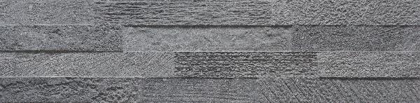 Faïence LOFT 3D dark 15x61cm Ep.11mm