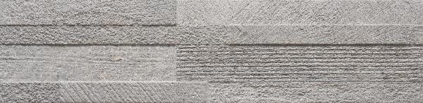 Faïence LOFT 3D grey 15x61cm Ep.11mm
