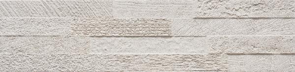 Faïence LOFT 3D white 15x61cm Ep.11mm