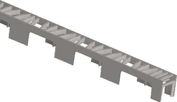 Cale armature horizontale UFIX-TYPE PREMIUM enrobage:30mm 2m paquet 50