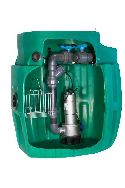Poste de relevage SANIREL 420 EVO eaux usées +1 pompe 408