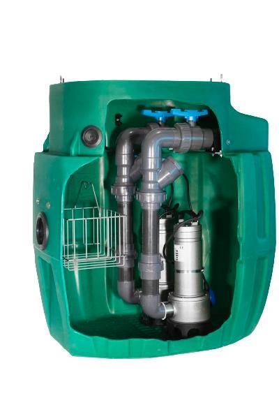 Poste de relevage SANIREL 420 EVO eaux usées +2 pompes auto GRI