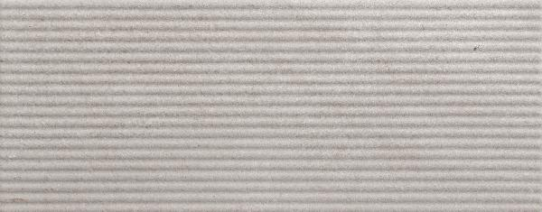 Faïence décor TWIST reed perla mat 20x50cm Ep.9mm
