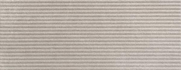 Faïence décor TWIST reed gris mat 20x50cm Ep.9mm