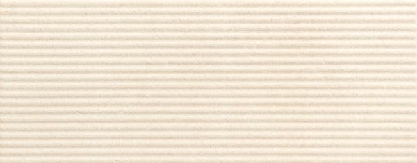 Faïence décor TWIST reed marfil mat 20x50cm Ep.9mm