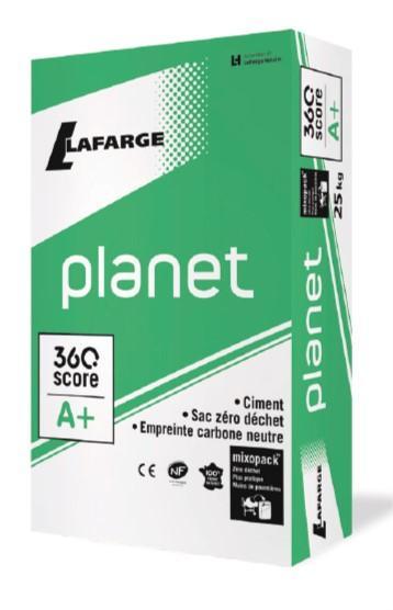 Ciment PLANET CEM II/B-LL LH/SR-PM 42,5 N CE+NF sac 25kg