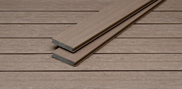 Lame terrasse PIAZZA PRO bois composite californian oak 25x140mm 4m