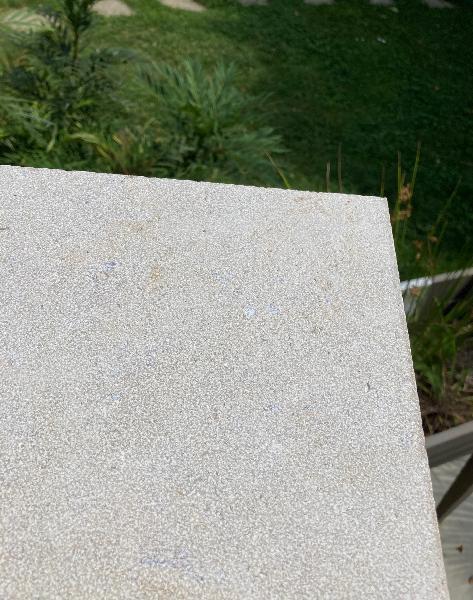 Dalle CEDRE gray sablée brossée 55x85cm 20mm