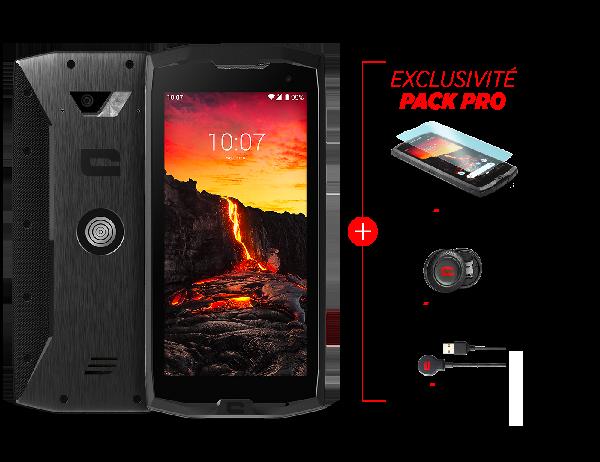 Smartphone PACK PRO CORE-M4 + x-glass + x-câble + x-dock