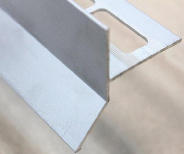 Goutte d'eau alu mat argent 250mm H.45mm Ep.21mm