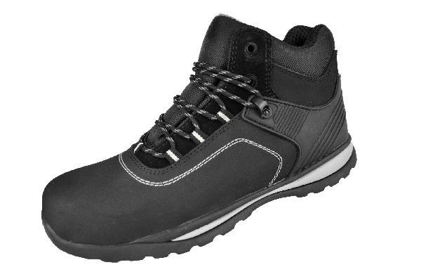 Chaussure de sécurité haute JAMES noir S3 SRC T.42