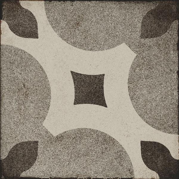 Carrelage décor OTTOCENTO tappeto 6 talco 20x20cm Ep.10mm