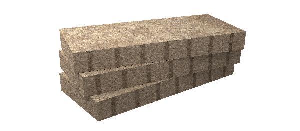 Laine de roche MB ROCK PREMIUM 200mm 135x56,5cm par 2 R=6,25