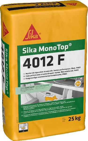 Mortier réparation SIKA MONOTOP 4012 F fibré sac 25kg