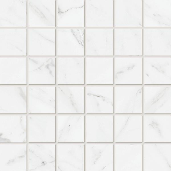 Carrelage mosaïque sur trame CALACATTA white 30x30cm