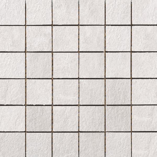 Carrelage mosaïque sur trame SANDSTONE white 30x30cm