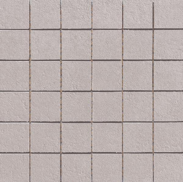 Carrelage mosaïque sur trame VULCANO grey 30x30cm