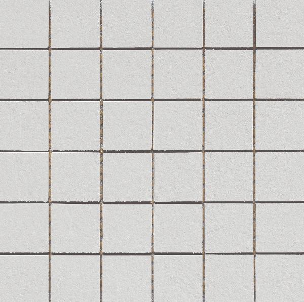 Carrelage mosaïque sur trame VULCANO pearl 30x30cm